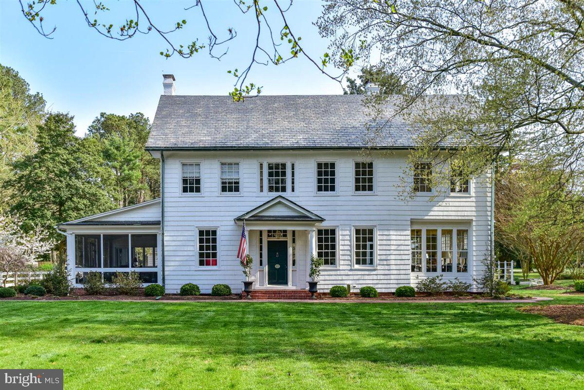 This Federal Style home known as the Rider Farm House. First constructed by the Rider Family in the