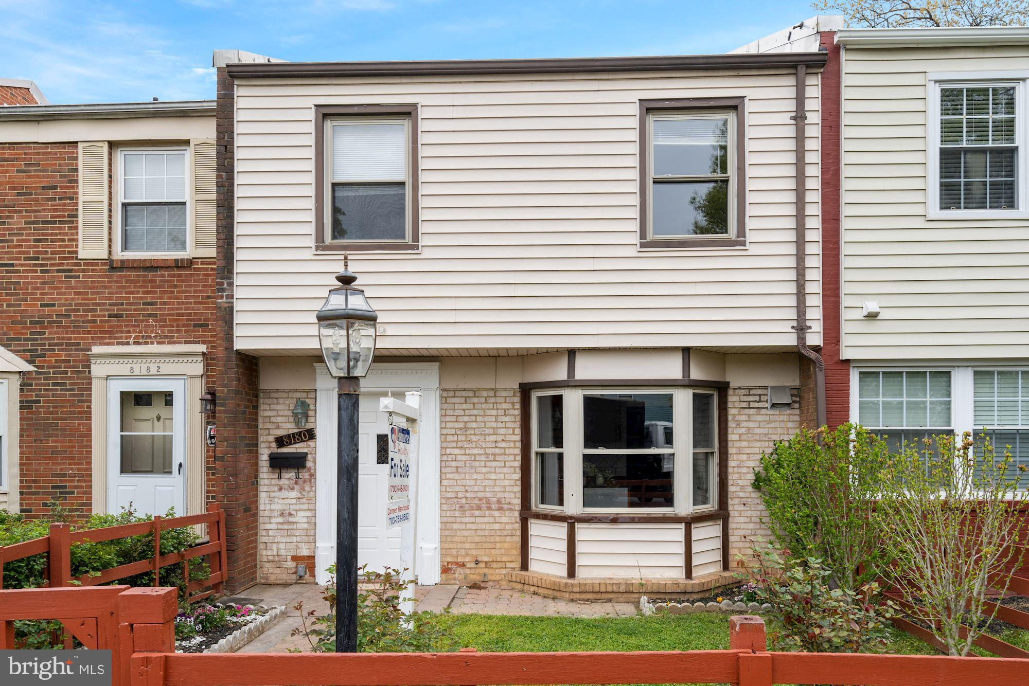 Move -in ready two level townhouse in the heart of Manassas.  Close to Mall, and I-66.  Features 4 b