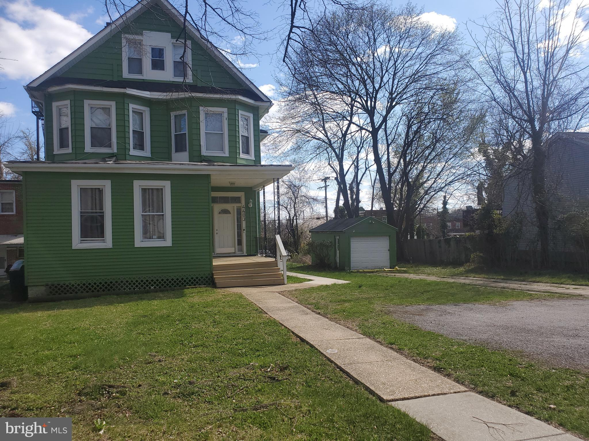 An Amazing opportunity for an investor looking to expand their portfolio! This beautiful colonial has been converted into a 3 Unit Rental property. All units occupied with long term, reliable tenants. All units are current with there payments and have active 1 year leases. Currently rented out at $799, $750, $850 and the garage at $50. It's even zoned to add more units. Current owner had been in conversation with the city to build on the land behind this property and break the sidewalk to which the city agreed. They were to allow a 6 unit building with garages along Frederick Rd. The new buyer can certainly pick that project up and make it even more valuable.  A list of improvements available. Basement is already set up for communal laundry (which could easily be converted to coin laundry) and the basement has room to add rental storage spaces as well.