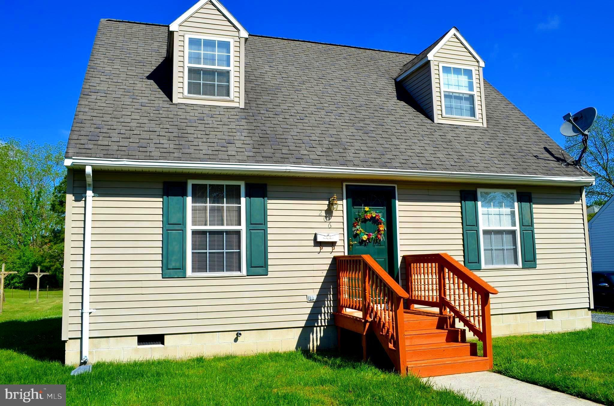 Don't miss this Affordable 3 bedrm, 2 Bath Cape  with rear deck, spacious rear yard  and even a  24