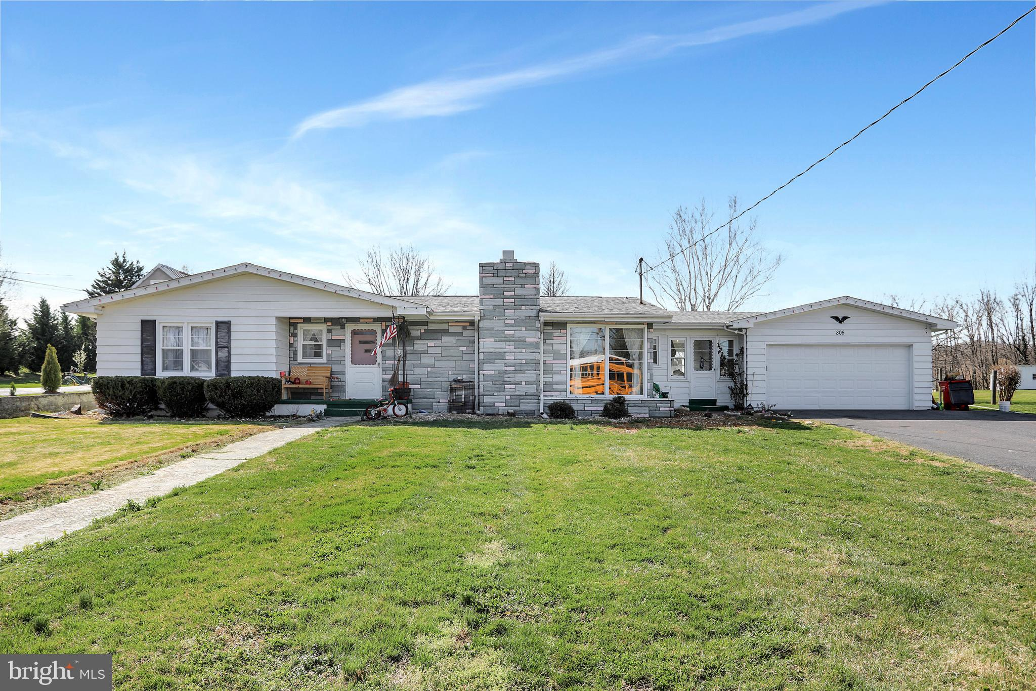 Location, Location, Location! This charming rancher has endless possibilities & plenty to offer. No