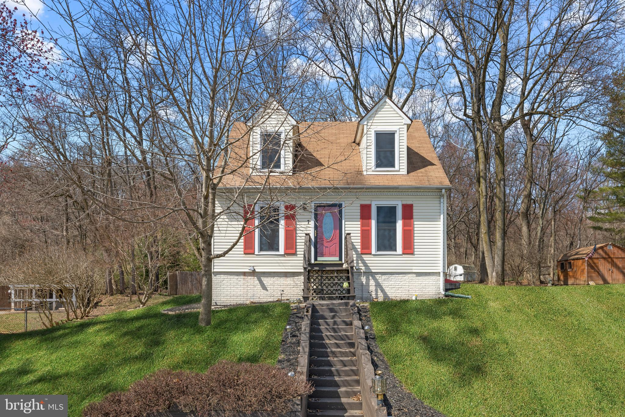 Welcome Home! This adorable 3 bedroom 2 bath Cape Cod is ready for you to move right in! This lovely