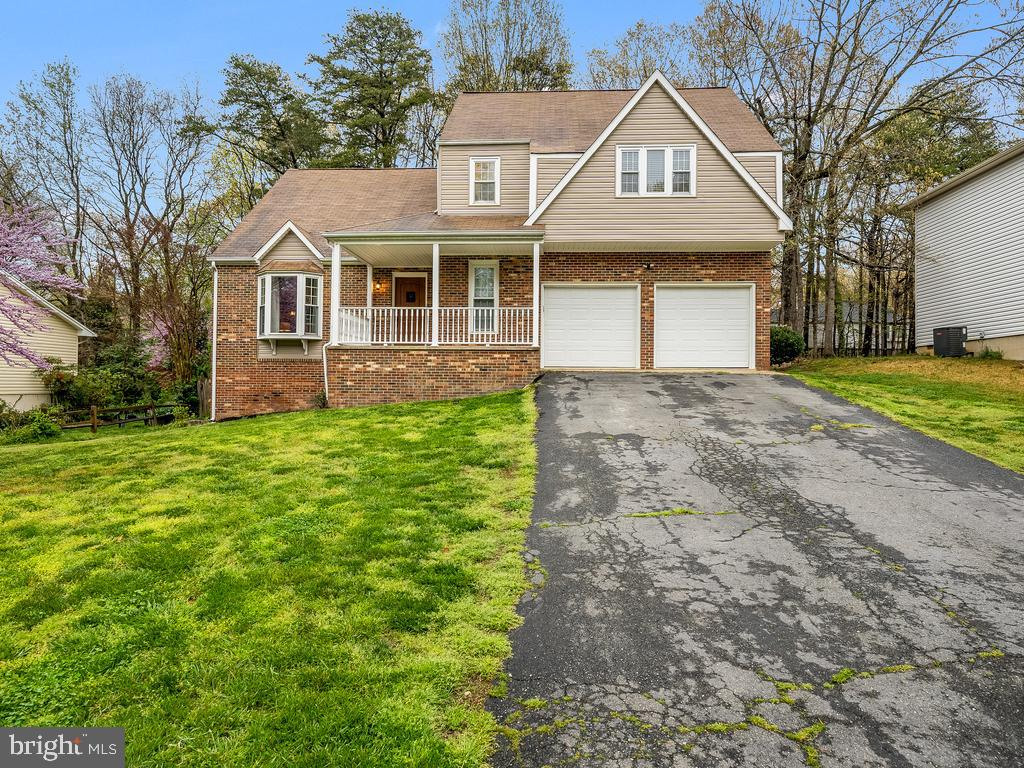 Beautiful Tudor style home in sought after North Stafford High School District boasts 4 bedrooms and