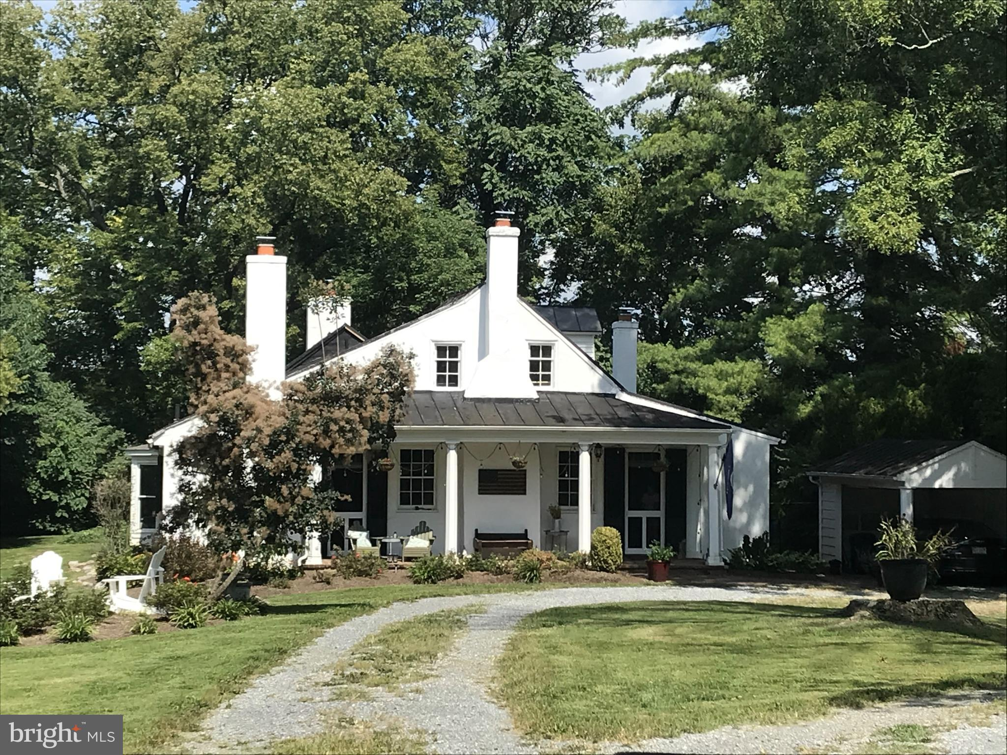 One of the oldest and most historic houses in Clarke County, New Market was built before 1770, perha