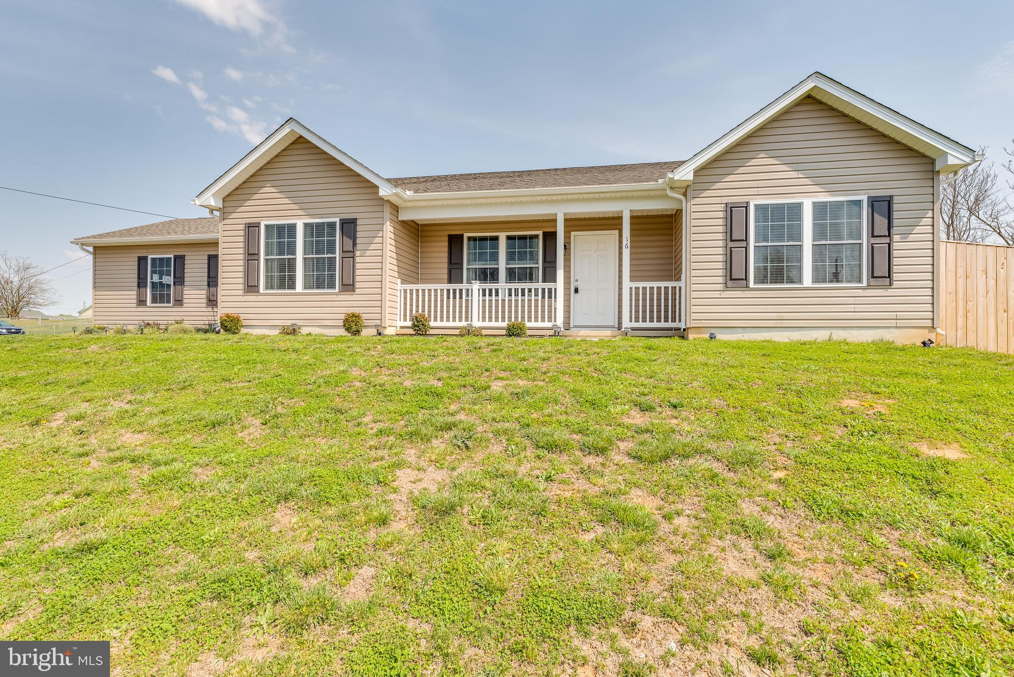South Berkeley County - 3 bedroom, 2 bath rancher built in 2019. Features include vinyl plank floori