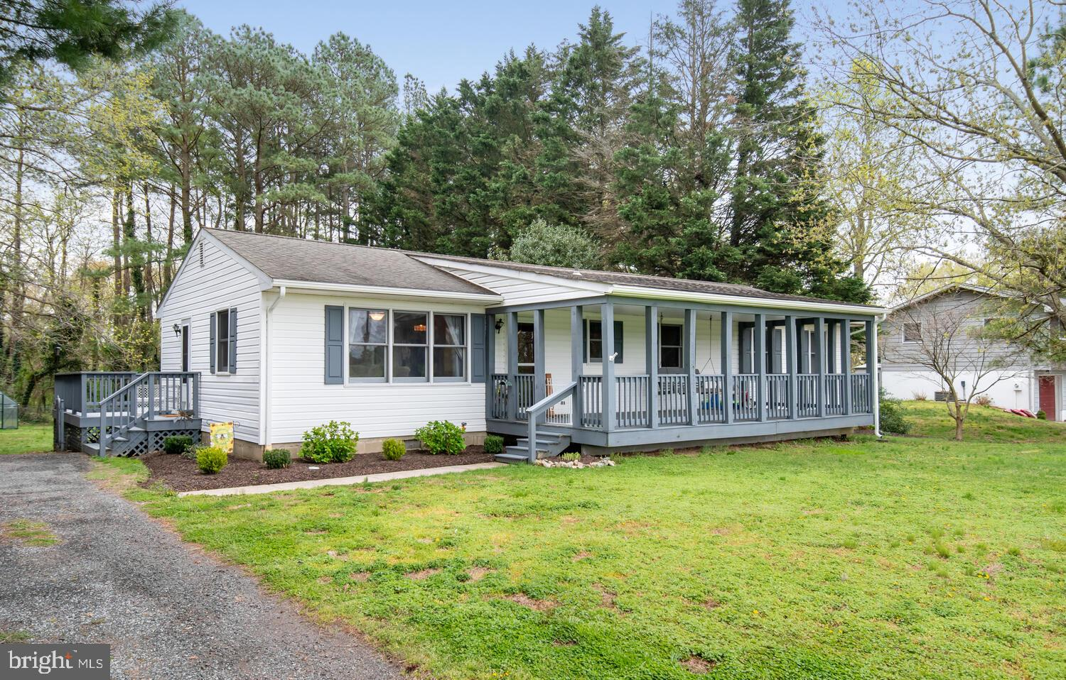 Don't miss out on this one! Perfect Centreville location! This adorable rancher with large country f