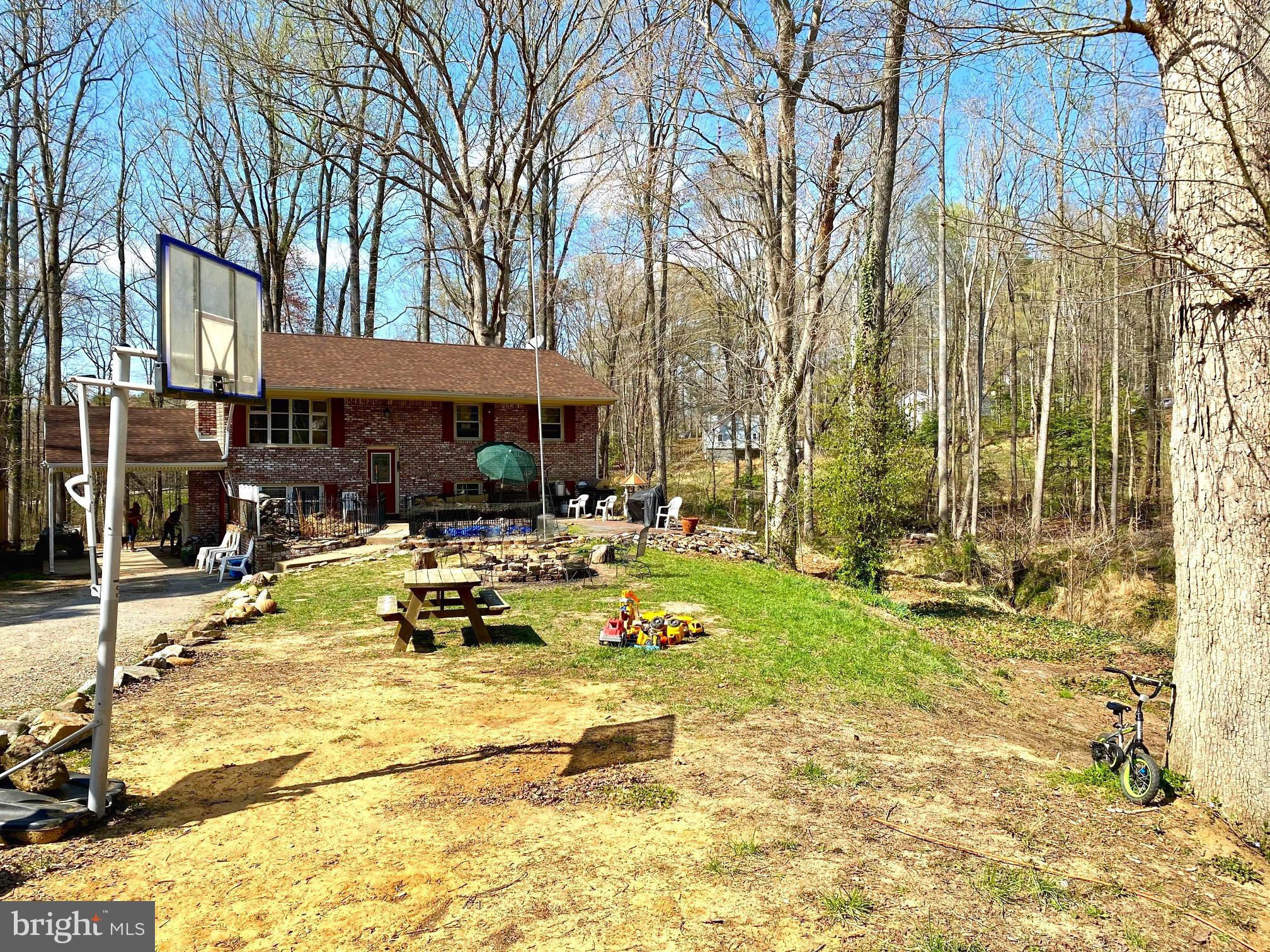 This home feature 4 bedroom 2 1/2 baths and sits on almost 2 acres. Car port with entry to the basem