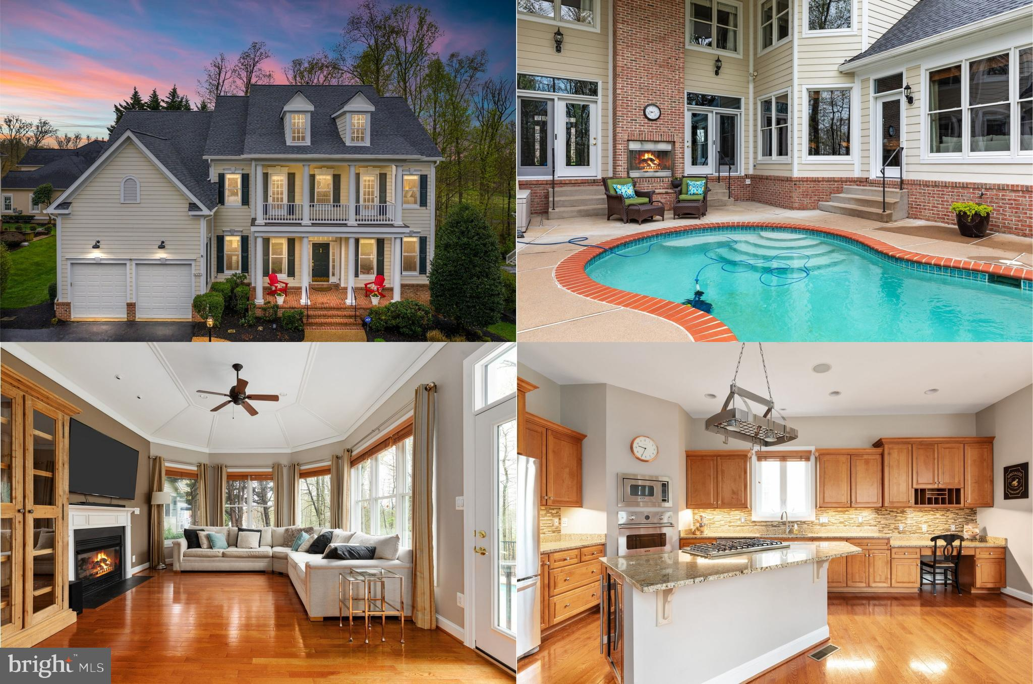 Situated in the sought after gated community of Lake Manassas this spectacular fully custom-built Ki