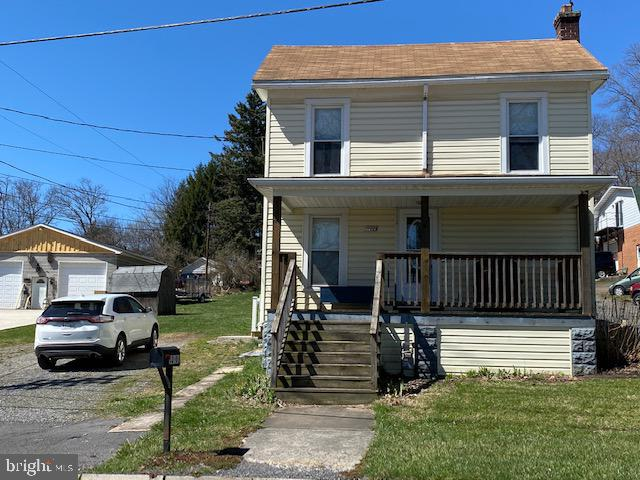 FROSTBURG - 3 Bedroom, 2 Full bath  This home features; a bedroom, full bath and laundry on the main floor, laminae flooring, freshly painted and  new carpet in the bedrooms, a level lot and a great location! Call today to schedule a private showing.