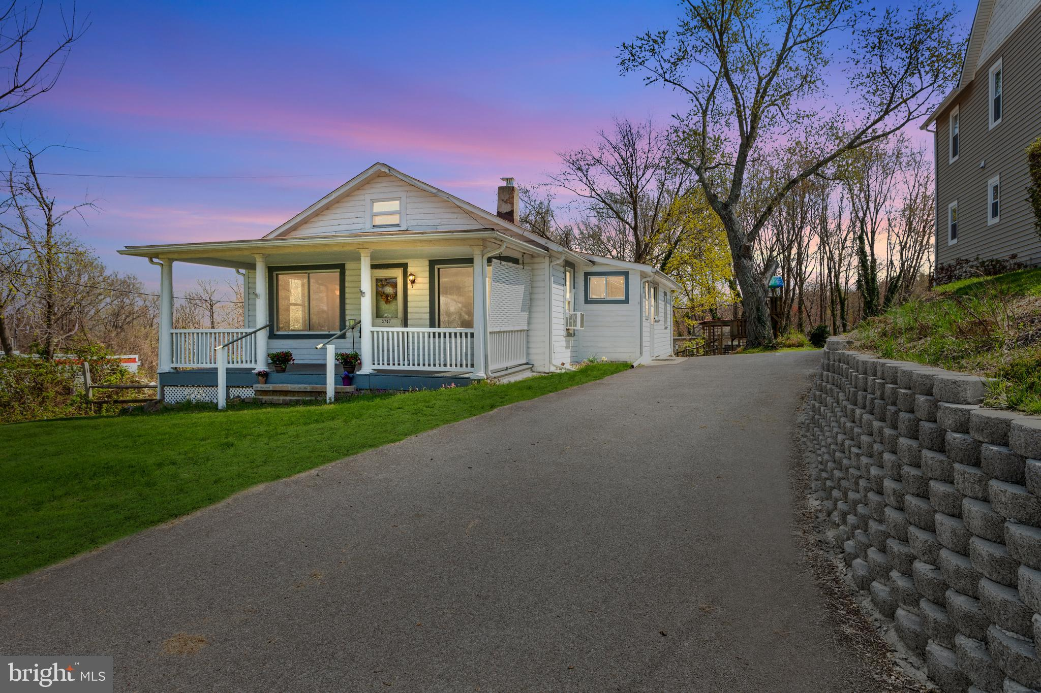 Conveniently located 3 Bedroom, 1 Bath ranch home with basement & garage & nice private yard behind