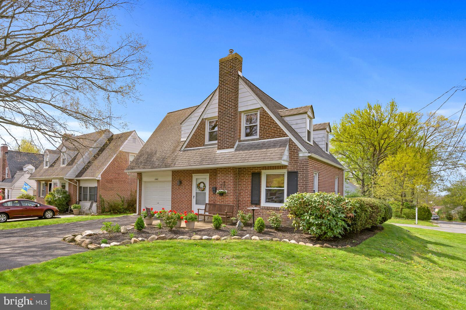 Professional photos coming soon! Welcome to 1300 Lore Avenue. This adorable brick cape cod on a corn