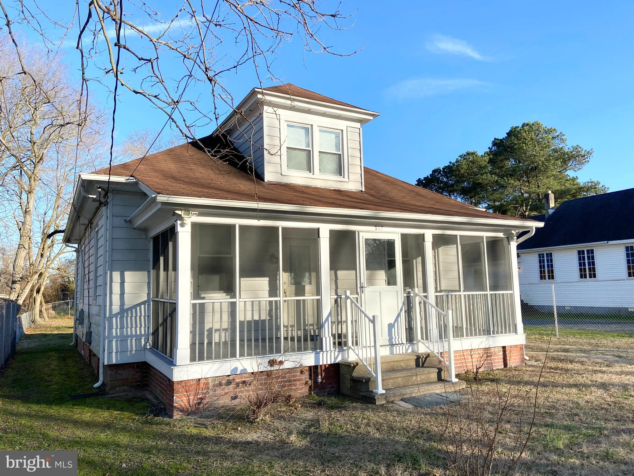 Very well maintained Cape Cod home. Original hardwood floor. All windows have been replaced. Screene