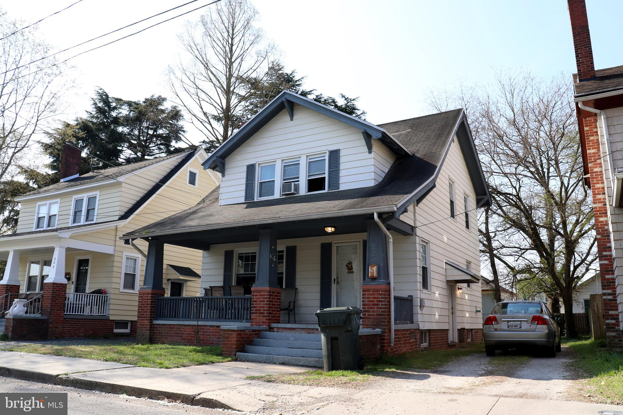 This charming bungalow is centrally located near Salisbury University.  The perfect starter home or