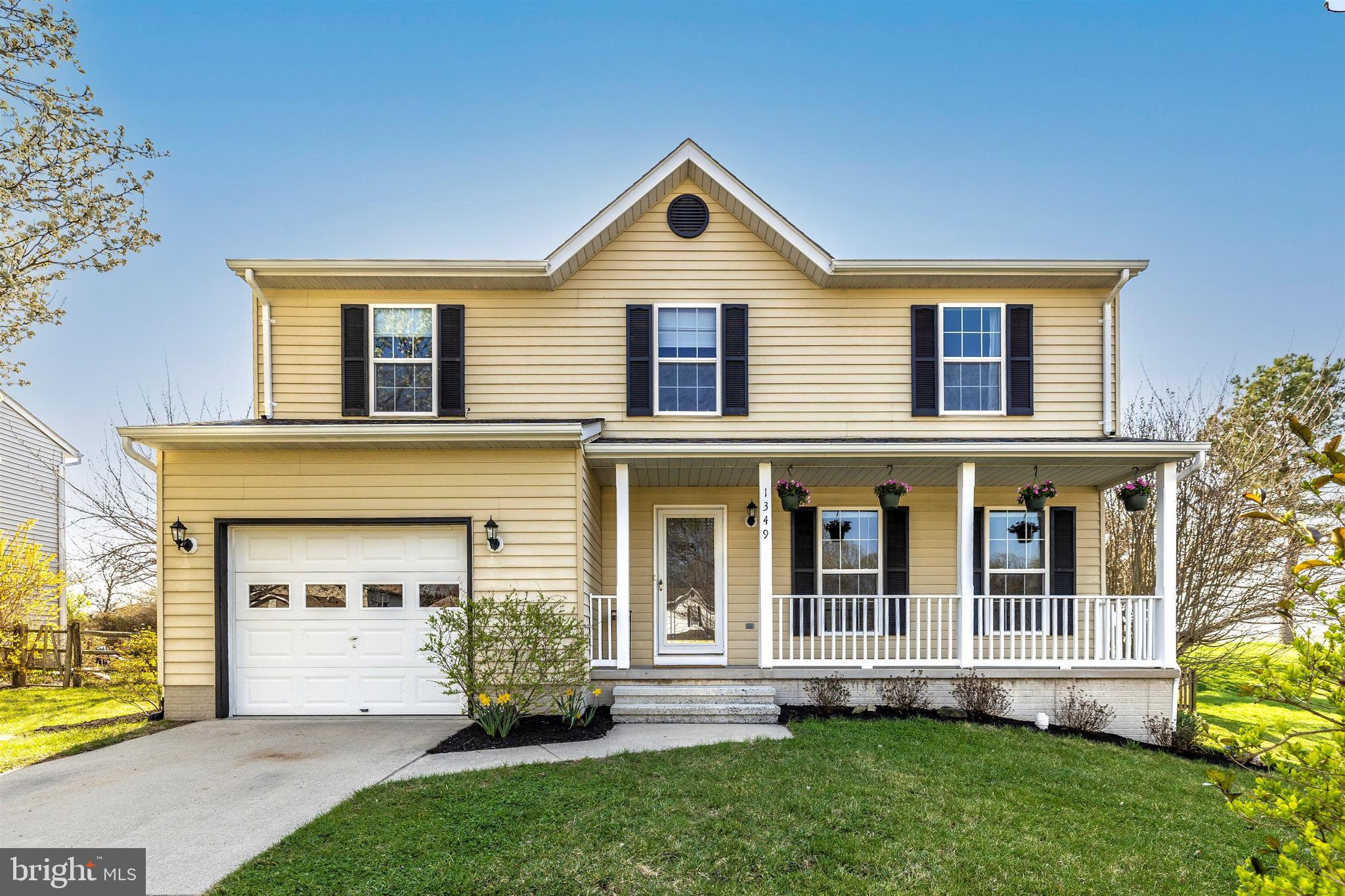 Meticulously maintained and updated  Colonial .Home boasts light filled interior, neutral palate, gl