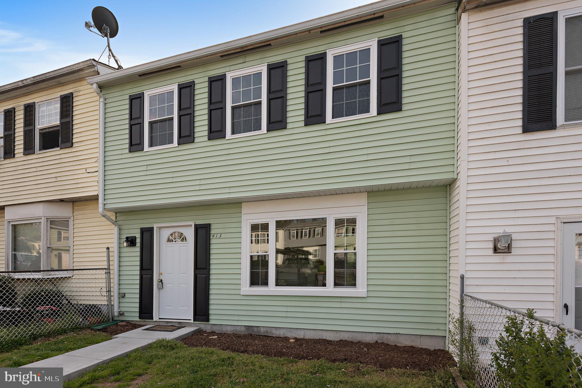 This townhome has good bones and is ready for you to make it your own.  New windows, sliding patio d