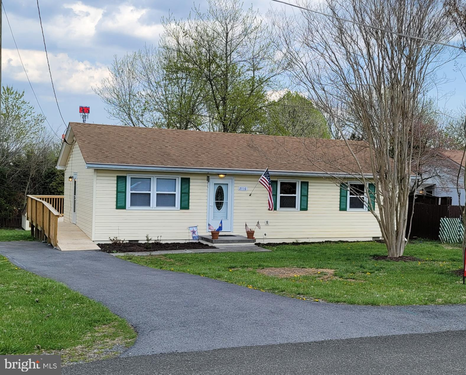 Beautifully updated one owner home.  HUGE deck overlooks large level back yard.  Roof approximately