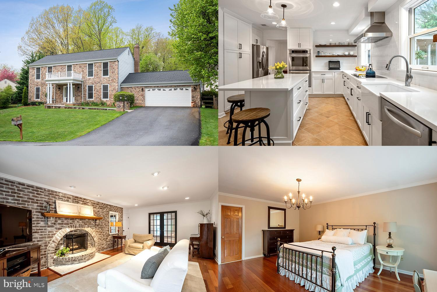 Welcome to Brentwood! Pristine and move-in ready stone front colonial in an established neighborhood