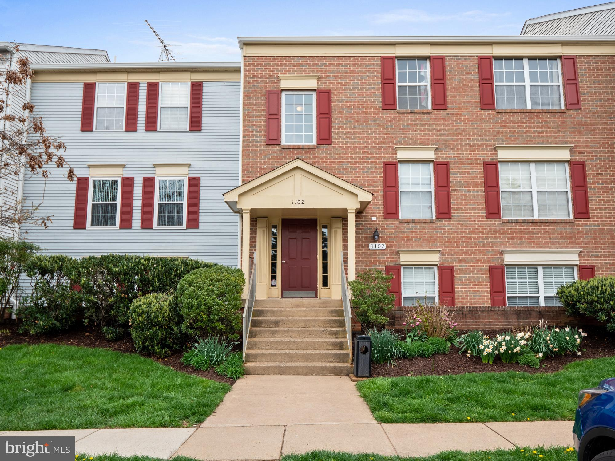 Immaculate 2BR, 1BA light filled condo in popular Fox Chase! Freshly painted, new carpet throughout,