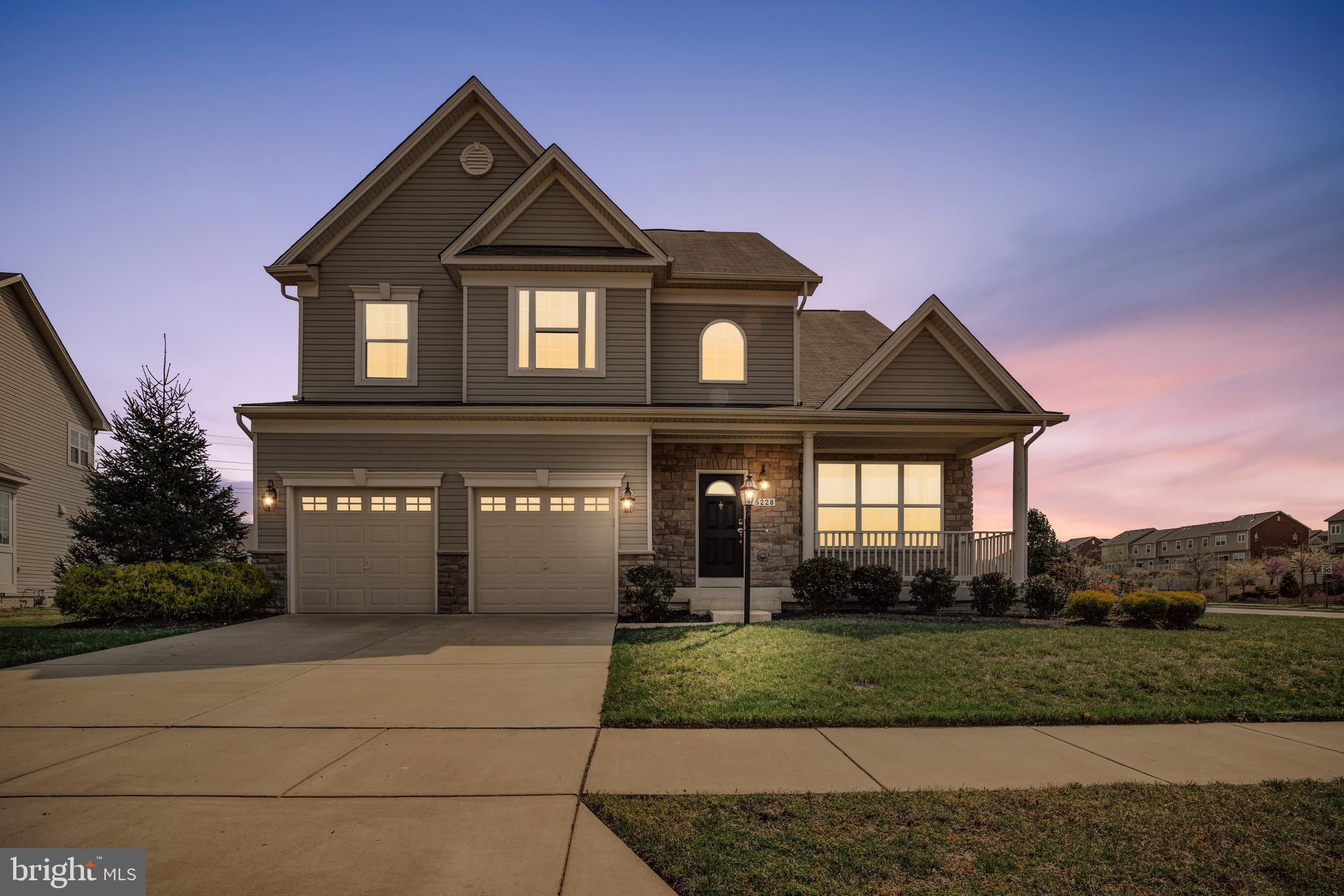 This beautifully maintained 3 year old former model home is ready for you! 4 bedroom, 3.5 bath with