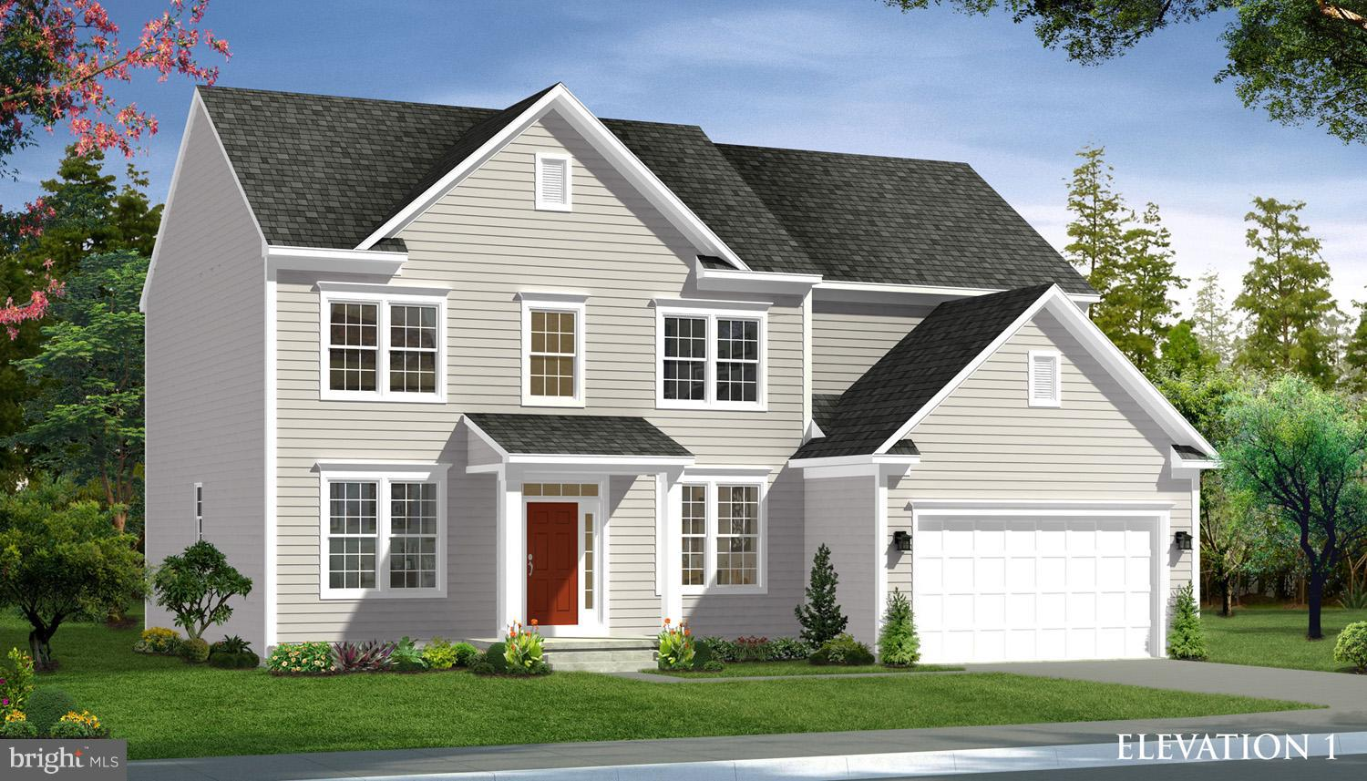 MOVE-IN MAY 2021! The gorgeous & spacious Castlerock II plan at Springdale Farm is a 4 BR home  2.5