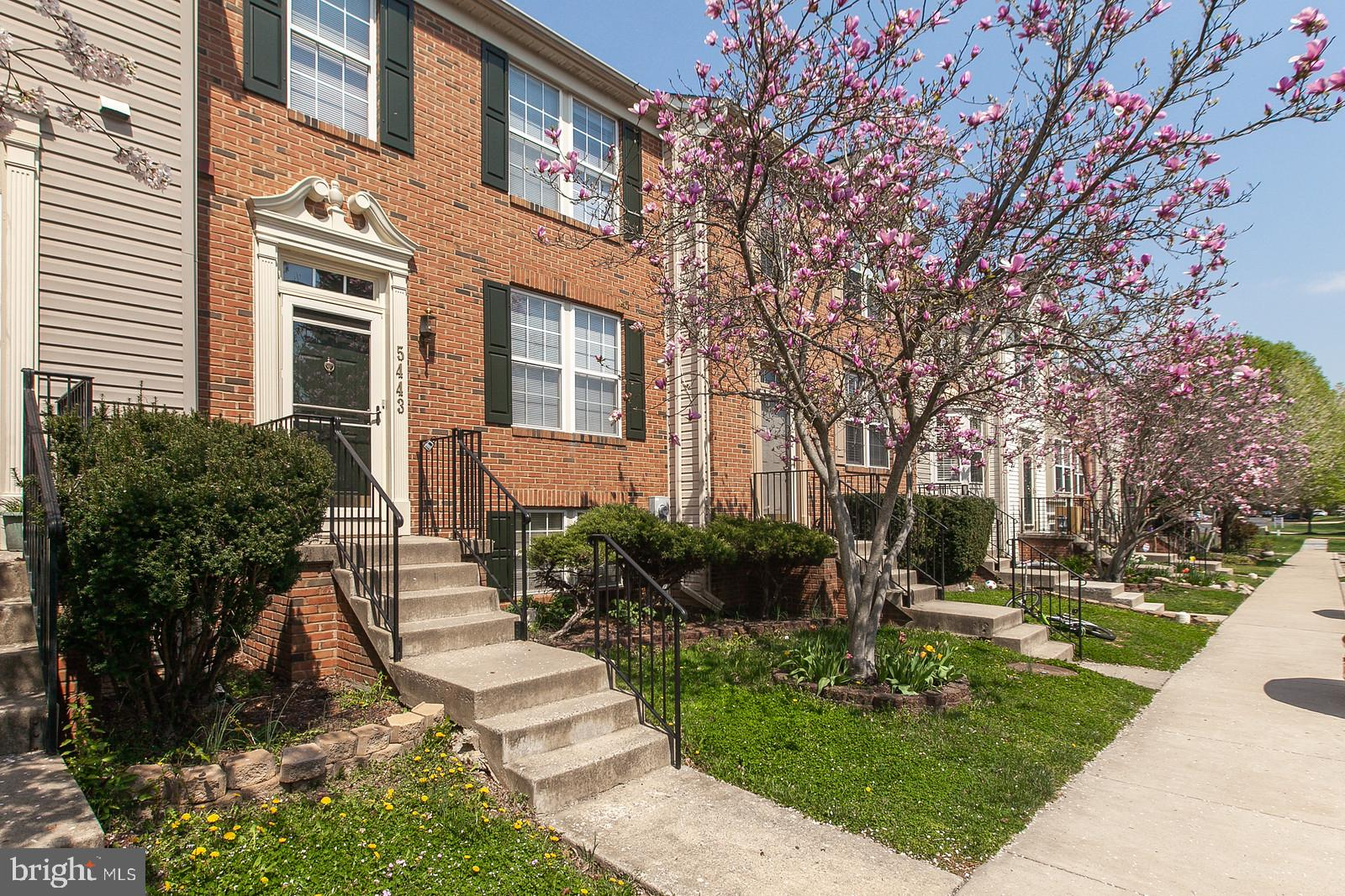 Great opportunity to purchase a sought-after, brick-front townhome in Ballenger Creek.  The main lev