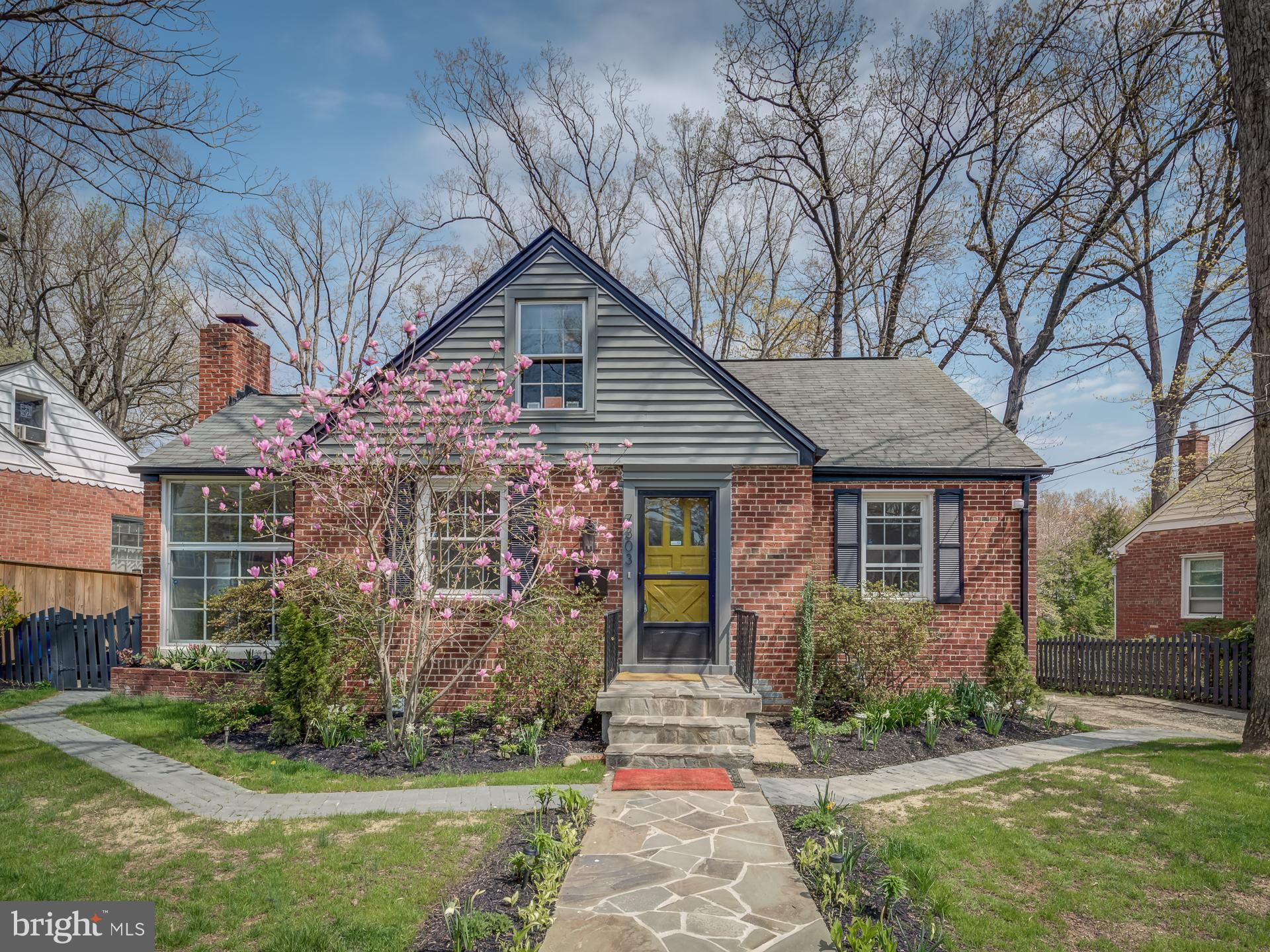 Welcome Home! This Large Cape Cod nestled in Takoma Park and steps away from Sligo Creek Park is jus