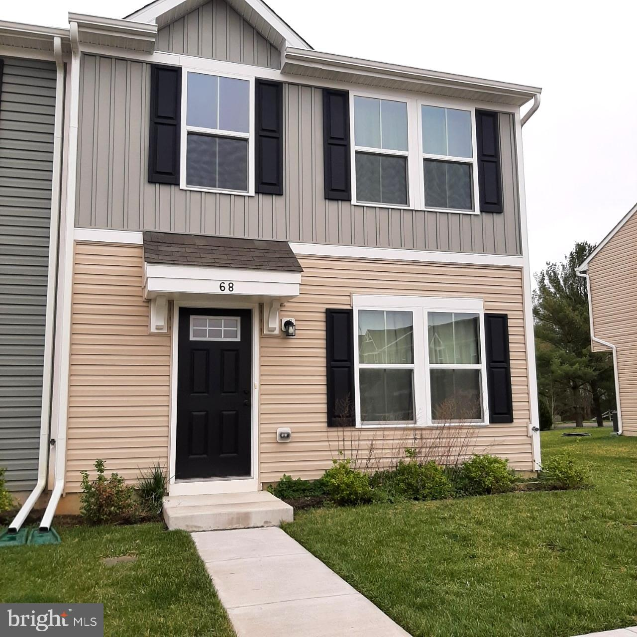 This lovely end of row townhouse built in 2019, is just minutes from the Delaware/Maryland state lin