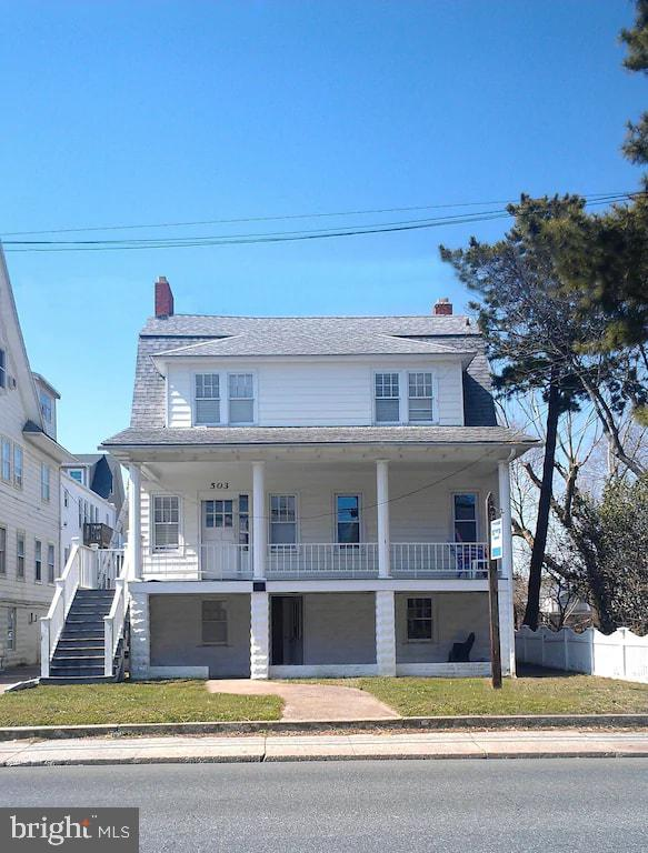 Beautiful Grand Home and 2 Unit apartment building. Property is located close to Ocean Citys beautif