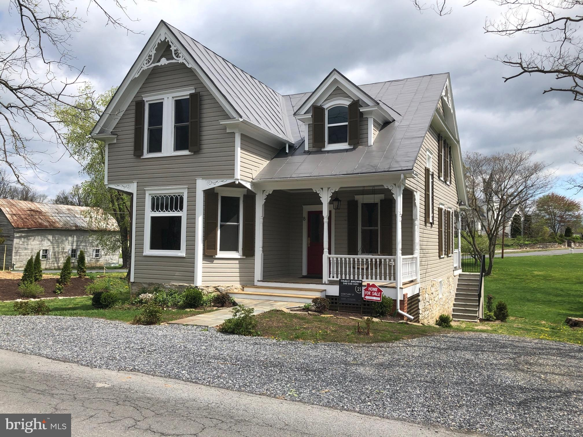This Home has been Lovingly Restored from top to bottom. Everything is new,  All new windows tilt in
