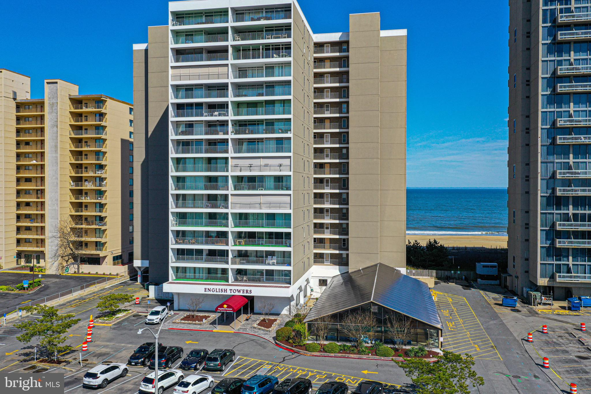 Absolutely pristine 3 bedroom 2 bath condo, meticulously maintained unit,  with quality furnishings, located in a much sought after ocean front building on the north side of town.  This west facing unit offers spacious living areas, bedrooms, and balcony.  Kitchen has been completely and tastefully remodeled. Unit has an outdoor storage closet just steps away from the unit and an additional beach storage locker on the entry level of the building.  Building is secure, with an indoor pool, exercise room, bike rack,  on-site management and on-site maintenance.  Affordable condo fees that include the internet, condo association is very well managed.  Owner will pay ground rent in full  at closing so the property will convey to the  buyer at closing as fee simple.   Don't miss out.  This gem won't last.
