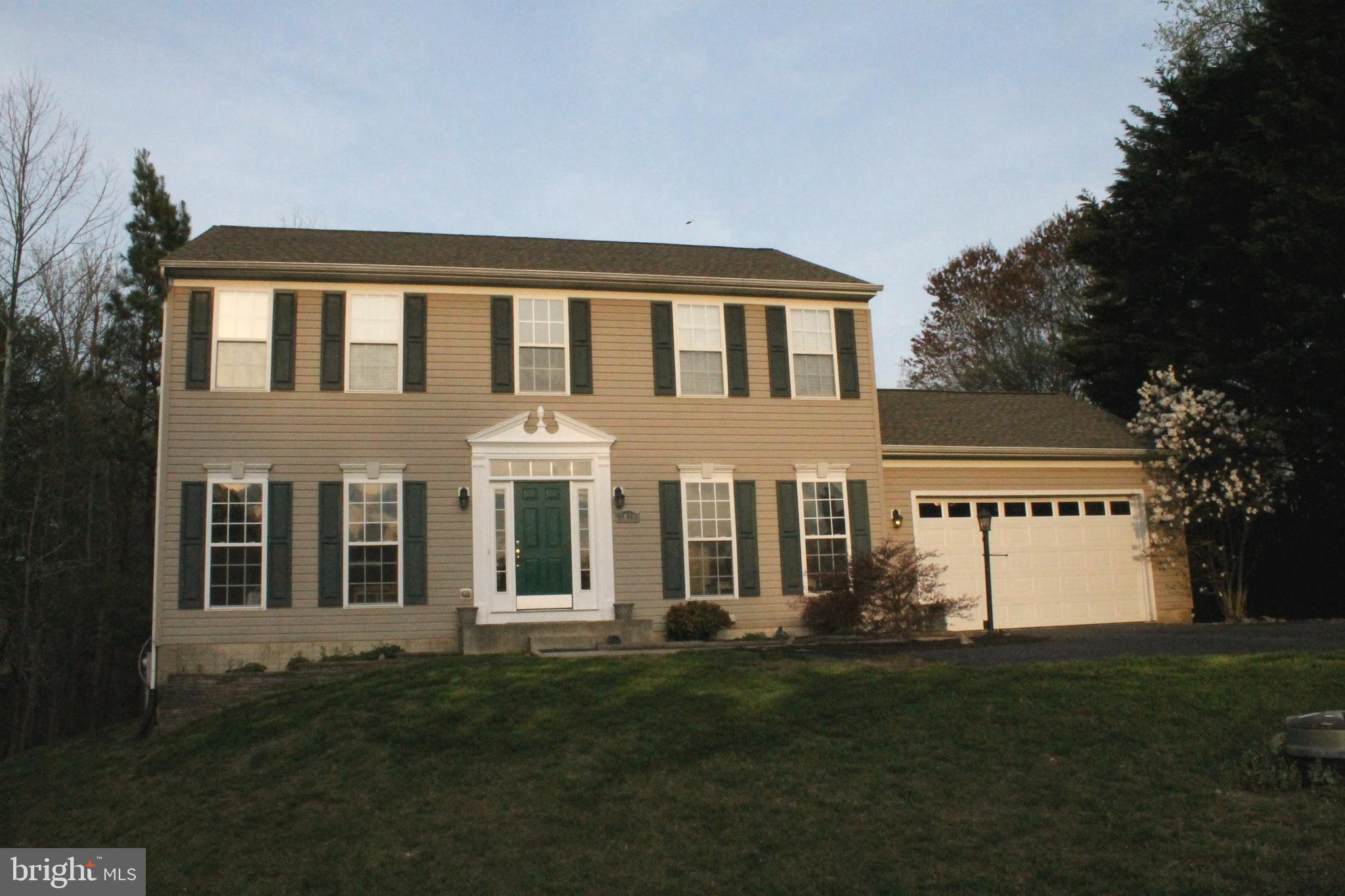 Wow!  A nice sized colonial in sought after Richfield Station.  This home has the builder's optional
