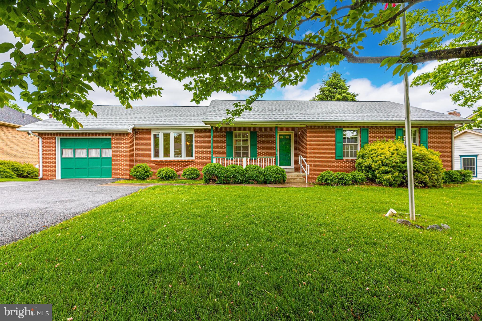 Meticulously maintained, all brick rancher in sought after Clover Hill! Much larger than it appears,