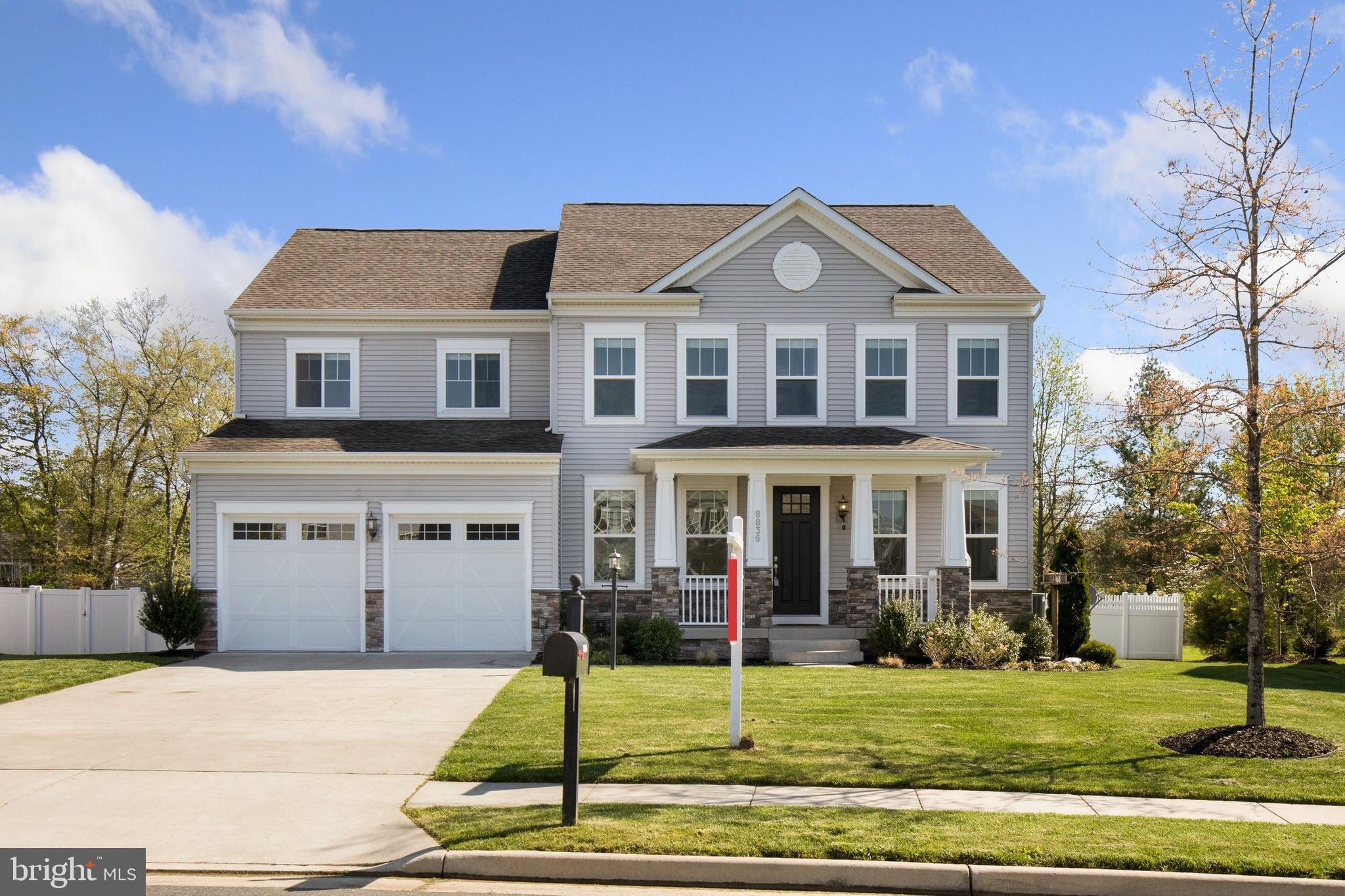 Welcome to 8836 Old Dominion Hunt Circle! This beautiful 4 bedroom, 4.5 bathroom Stanley Martin home