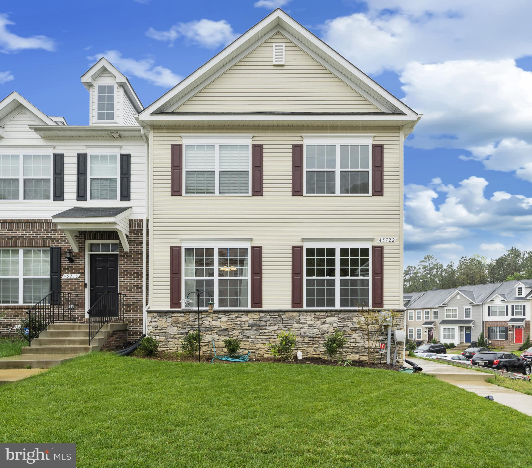 This massive end unit townhouse is less than three years old in this quiet neighborhood of Elizabeth
