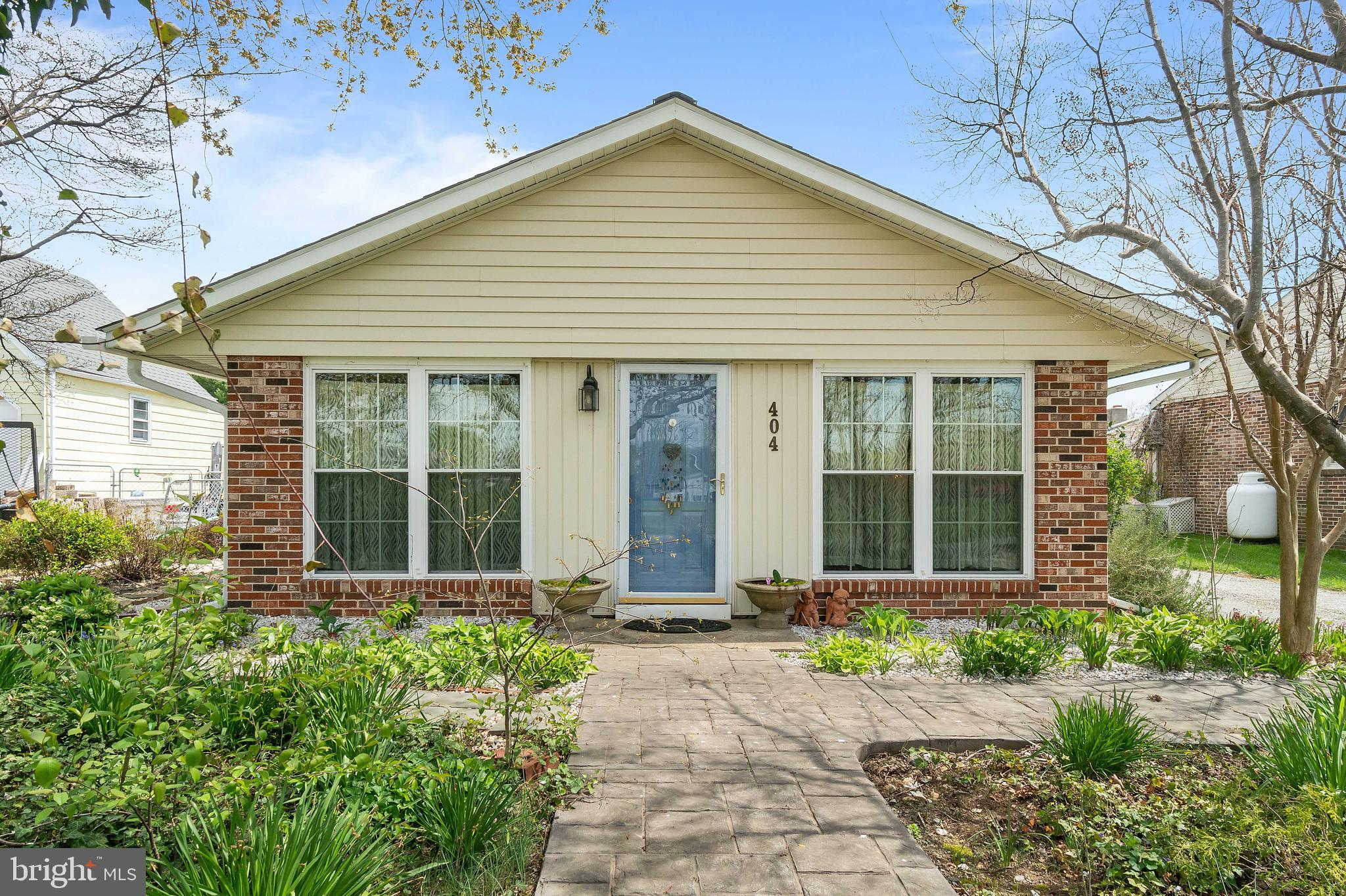 Welcome home to this super cute 3 bedroom, 1.5 bath rancher located in the North East within walking