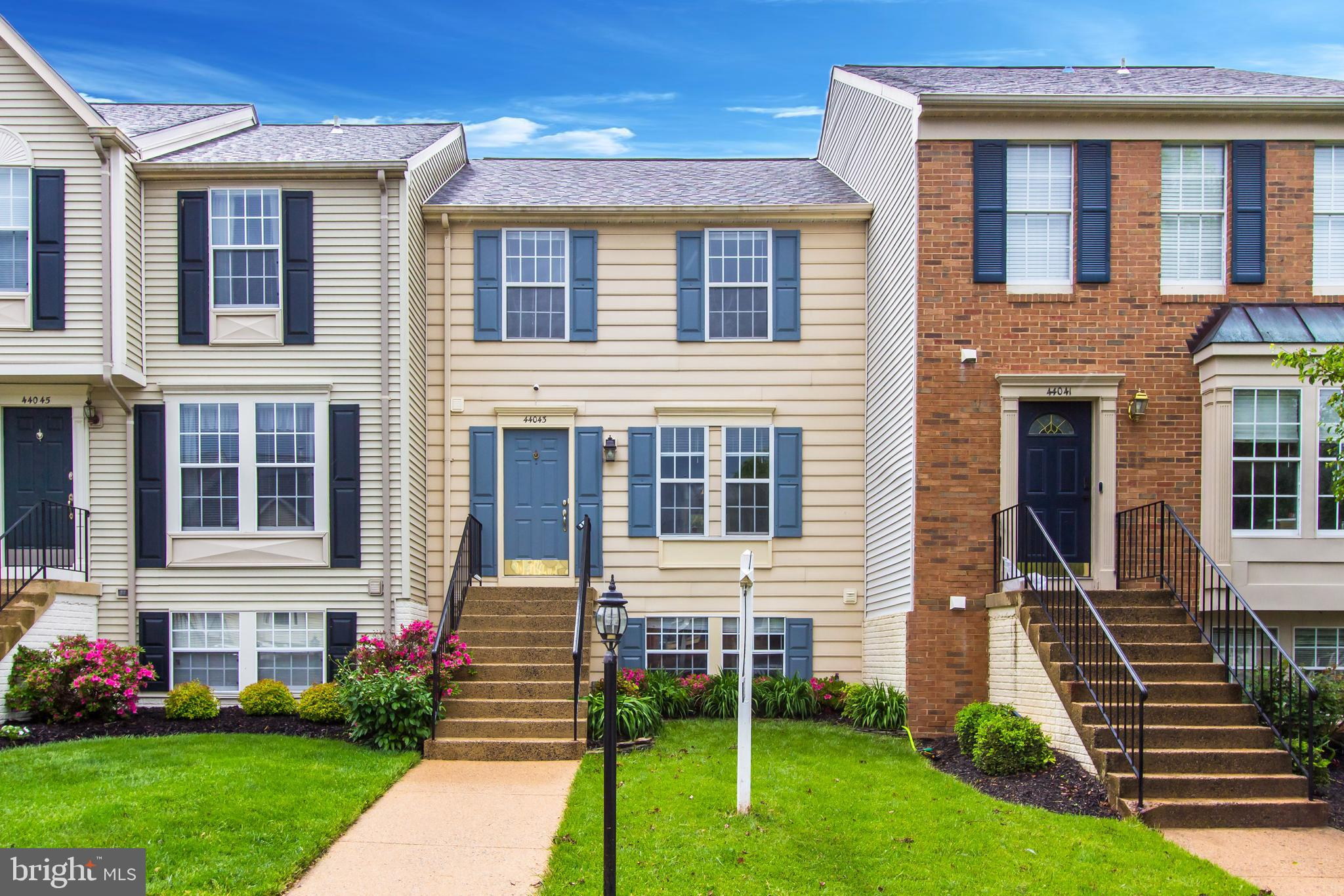 Move in ready and very well maintained, this three level TH features fresh paint throughout as well