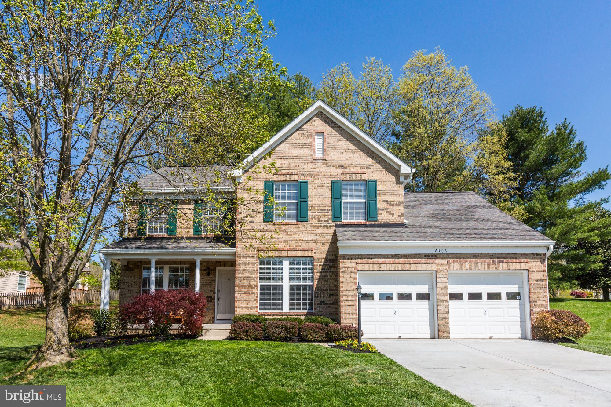 Extraordinary & exquisite, this brick front stately home perfectly sited in River Hill embodies comf