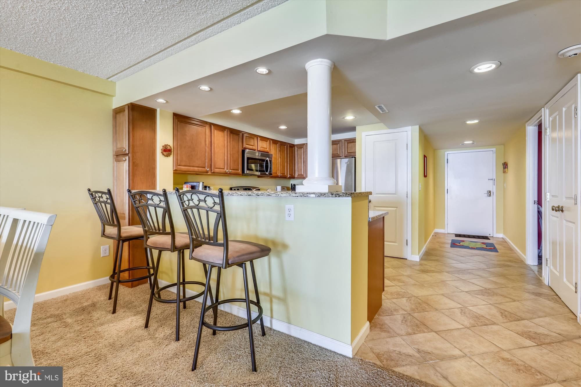 Beautifully updated 3 bedroom 2 bath condo Condo on the 9th floor of English Towers with a beautiful