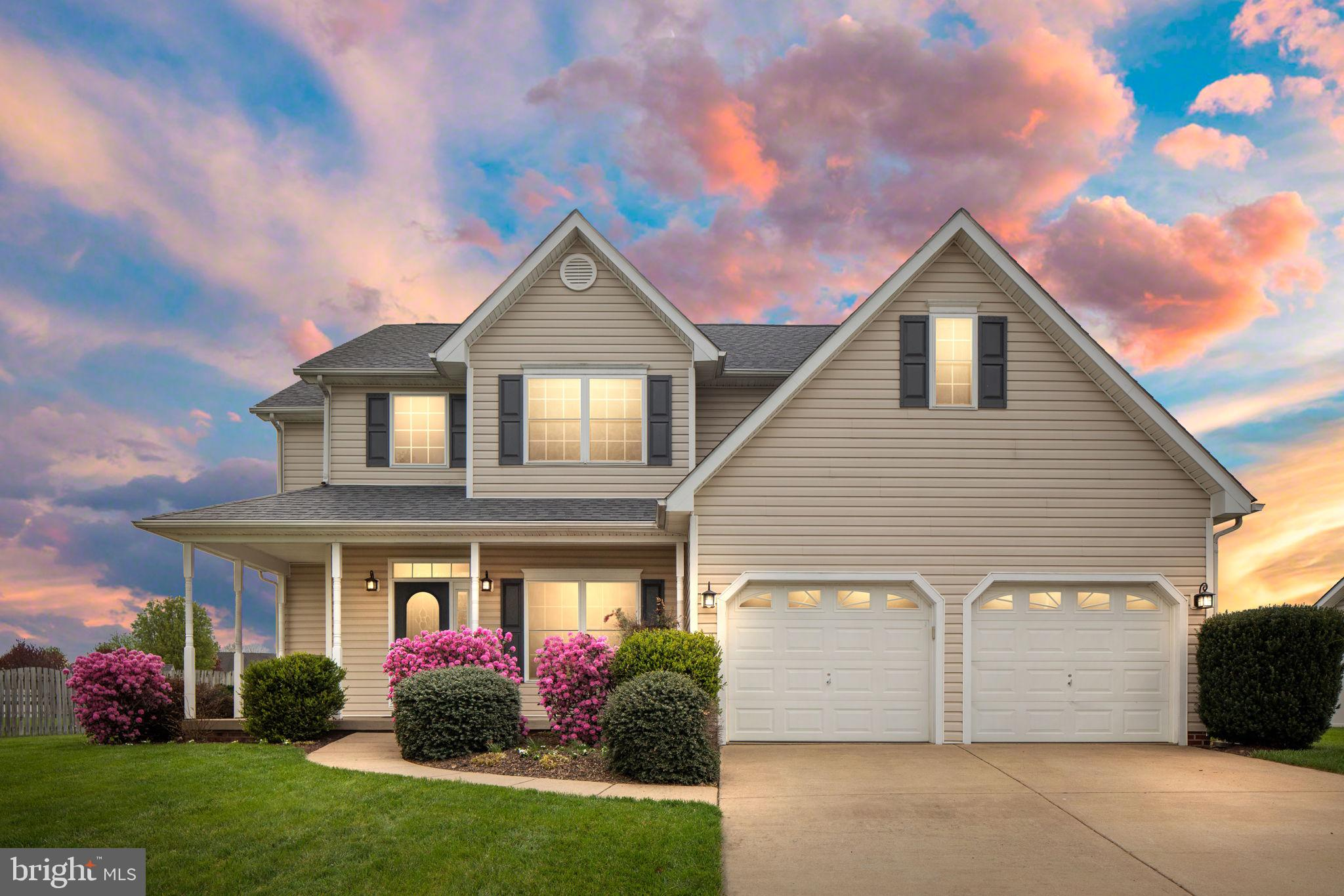 Come see this beautiful Colonial in the Canter Estates subdivision in Stephens City, VA.  Step into