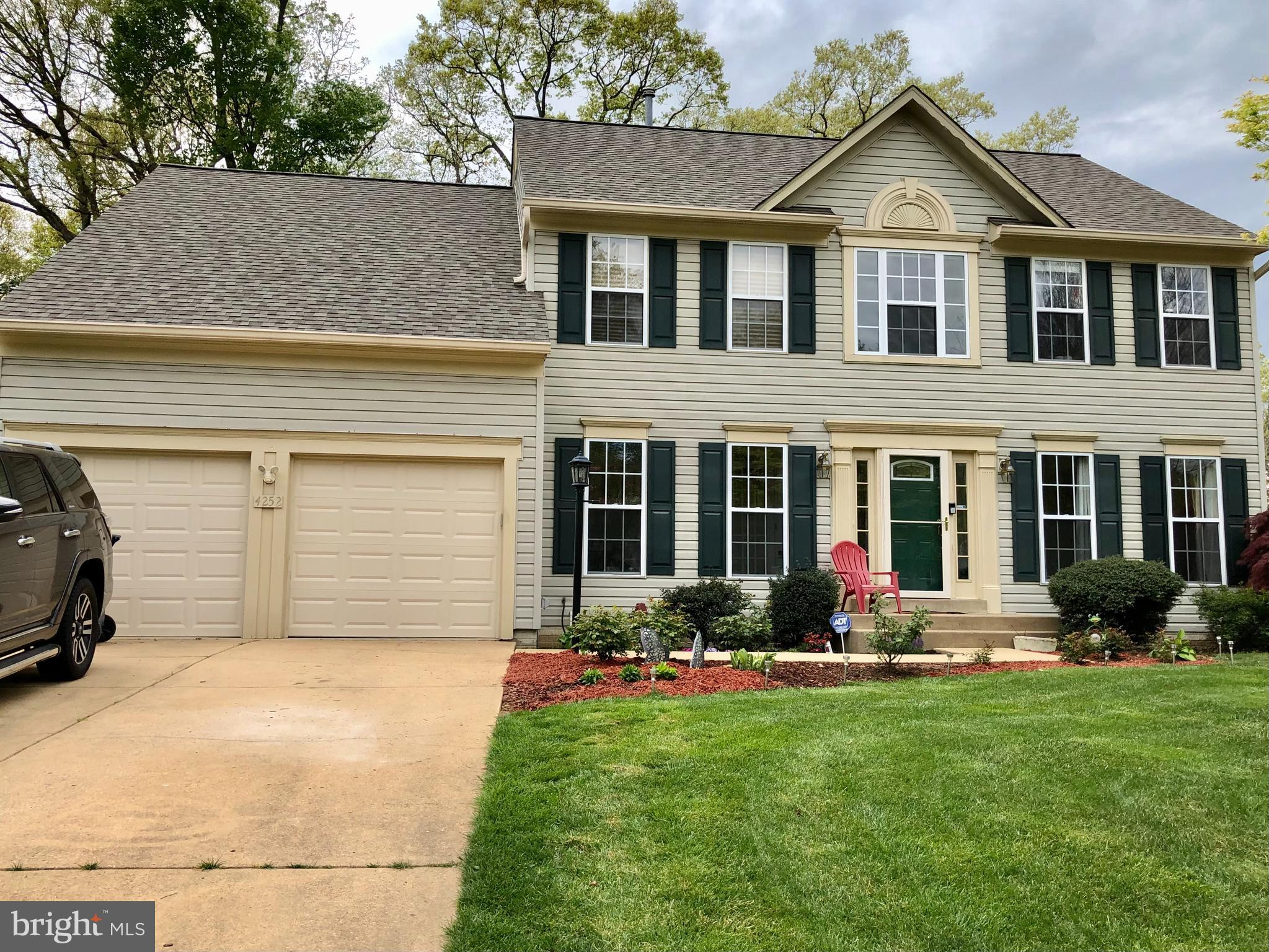 Showings on   Sunday May 2nd from 11:00 Am to 4:00 PM, please go and show **********      OPEN HOUSE ON SUNDAY MAY 2ND FROM 2:00 TO 4:00 PM.   *******  Please respect all COVID-19 protocols when showing, Beautiful and bright 3 levels, 4 bedrooms 3 1/2 bathrooms colonial with many upgrades. Roof replaced 6 months ago.  HVAC  system three years old.  Lawn sprinkler system and much more.  Large Master bedroom with a luxury master bath.  Extra large family room with a wood fireplace.   Beautiful hardwood floor on main level. Remote control blind on window over front door.  The kitchen overlooks the family room and leads to a private deck and a beautiful stone patio in the back yard.   Oversize concrete driveway.******     Showing times available on Saturday May 1st from 11:00 to 6:00 PM and Sunday May 2nd from 11:00 to 4:00 PM.******