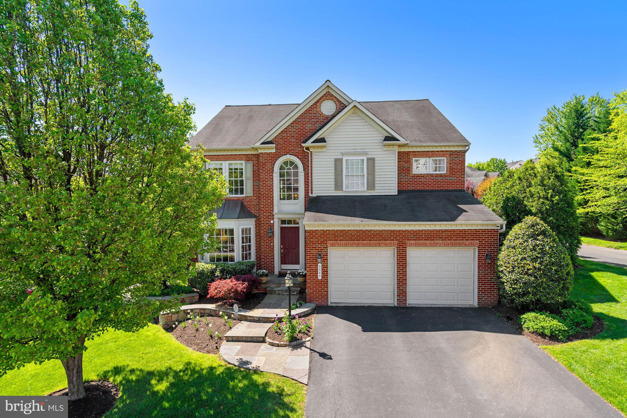 """OFFER DEADLINE Saturday 5/8 at 5pm.  If you're looking for a beautiful, move-in-ready home, you've found it at 5584 La Vista Drive, in Alexandria's sought-after Gunnell Estates.  The plethora of upgrades are truly remarkable. The main level was recently renovated and the floor plan """"opened up"""" to allow for easy flow between the new chef's kitchen, the dining room, the family room with gorgeous new built-ins and media center, and the outdoor living space -- a patio, firepit, and outdoor kitchen.  Also on the main level is a light-filled home office/homework center with an abundance of built-ins, as well as plantation shutters which can be found throughout the main level.    Upstairs you will find four bedrooms, all en-suite, with every bathroom updated and built-ins installed in one of the bedrooms.  The lower level includes a fifth bedroom, a full bath, a second office, a family room with a wet bar with an accompanying wine cellar.  The entire lower level offers heated floors, making it a cozy escape on a cold winter weekend.  California closets have been installed in all bathrooms, the garage, and the laundry room.  Close to 95/395/495 and Fairfax County Parkway, you will be just a short drive from Kingstowne and Springfield Town Centers, Old Town Alexandria, and downtown D.C."""