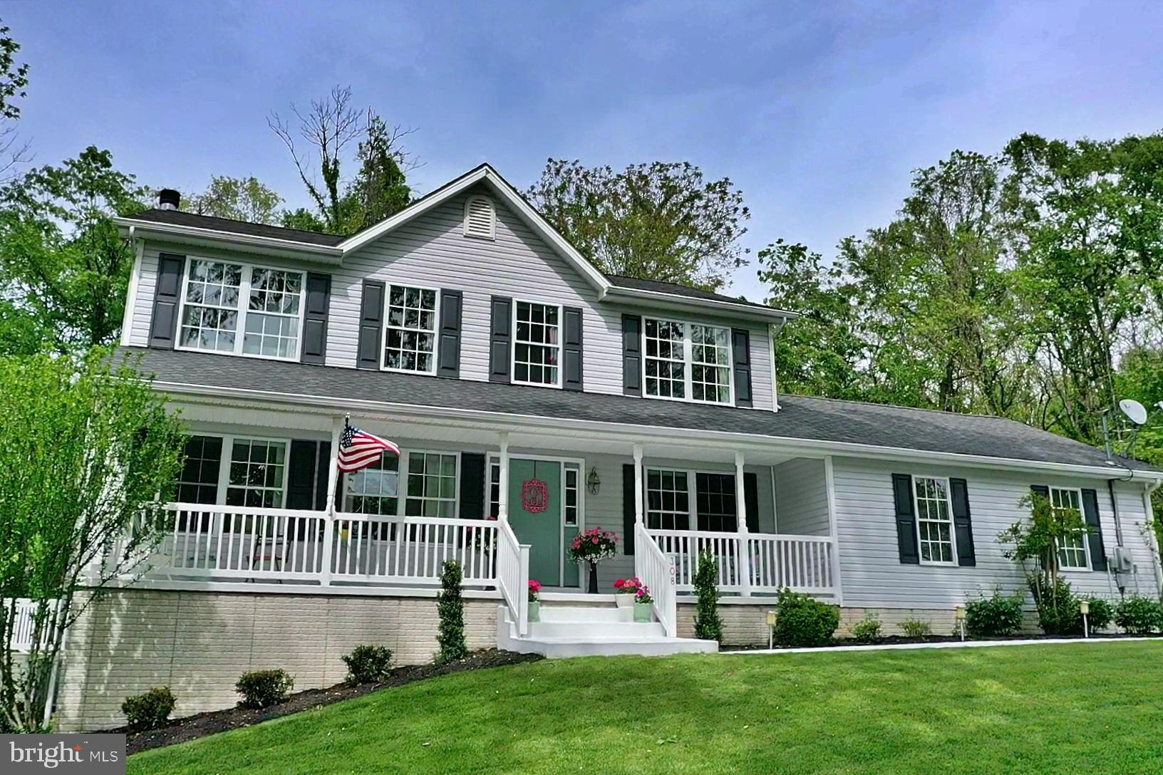 Be just the second owner of this quality custom-built Colonial in Blue Ridge Acres! This well-mainta