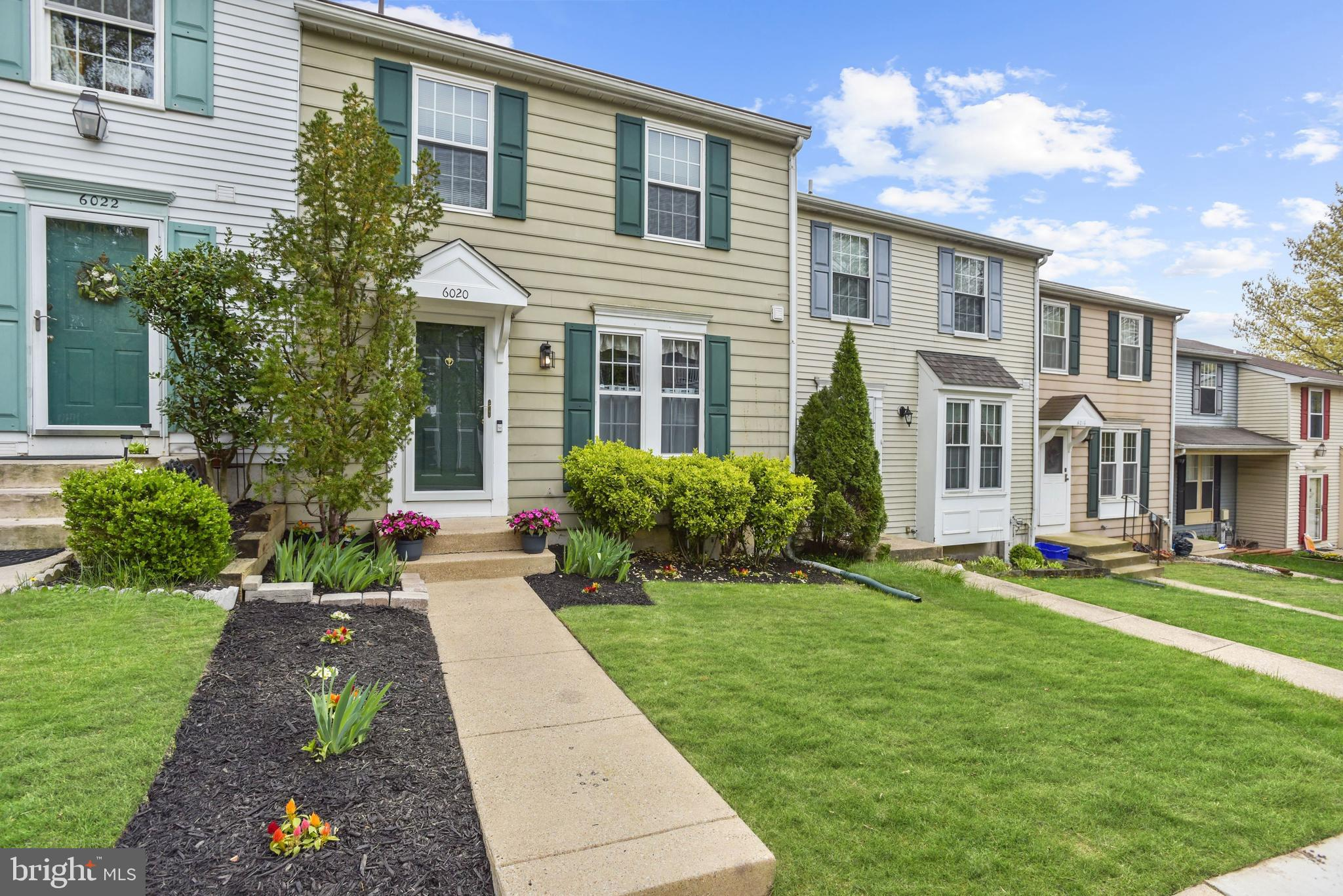 Beautiful Colonial townhome located in the Rockburn Commons community of Elkridge boasts updates inc