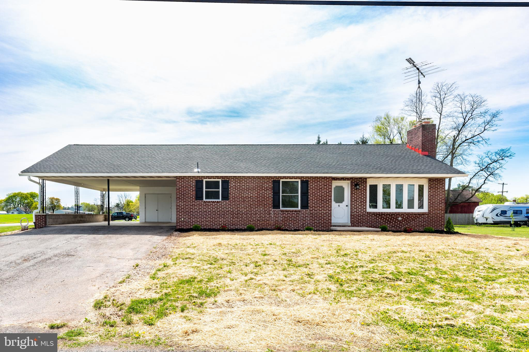 What a beautiful home!!!! Solid brick rancher with so many beautiful updates! WE all love updates fo