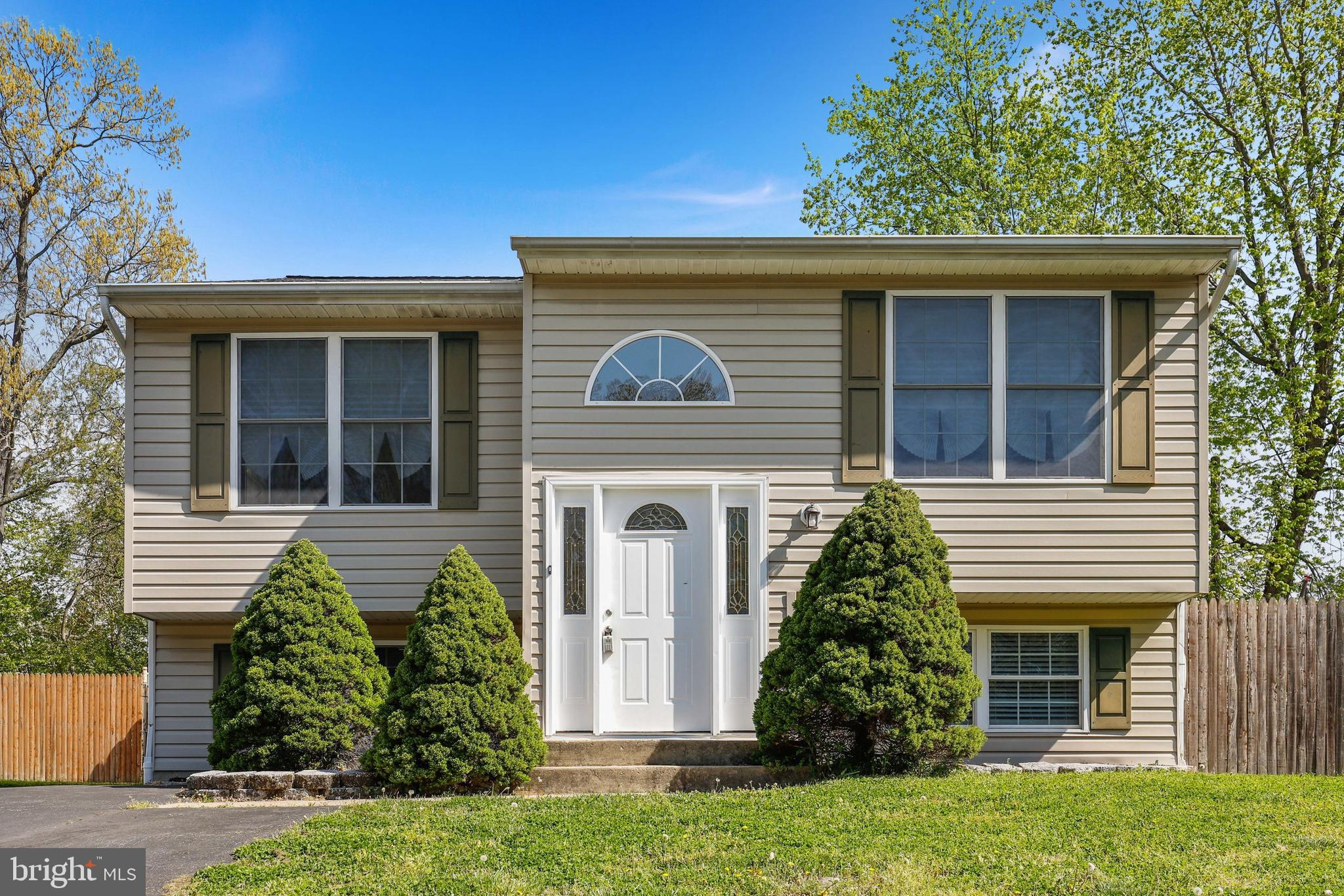 Don't miss this updated split foyer  featuring 4 bedrooms and 3 full baths situated on a .20 acre lo