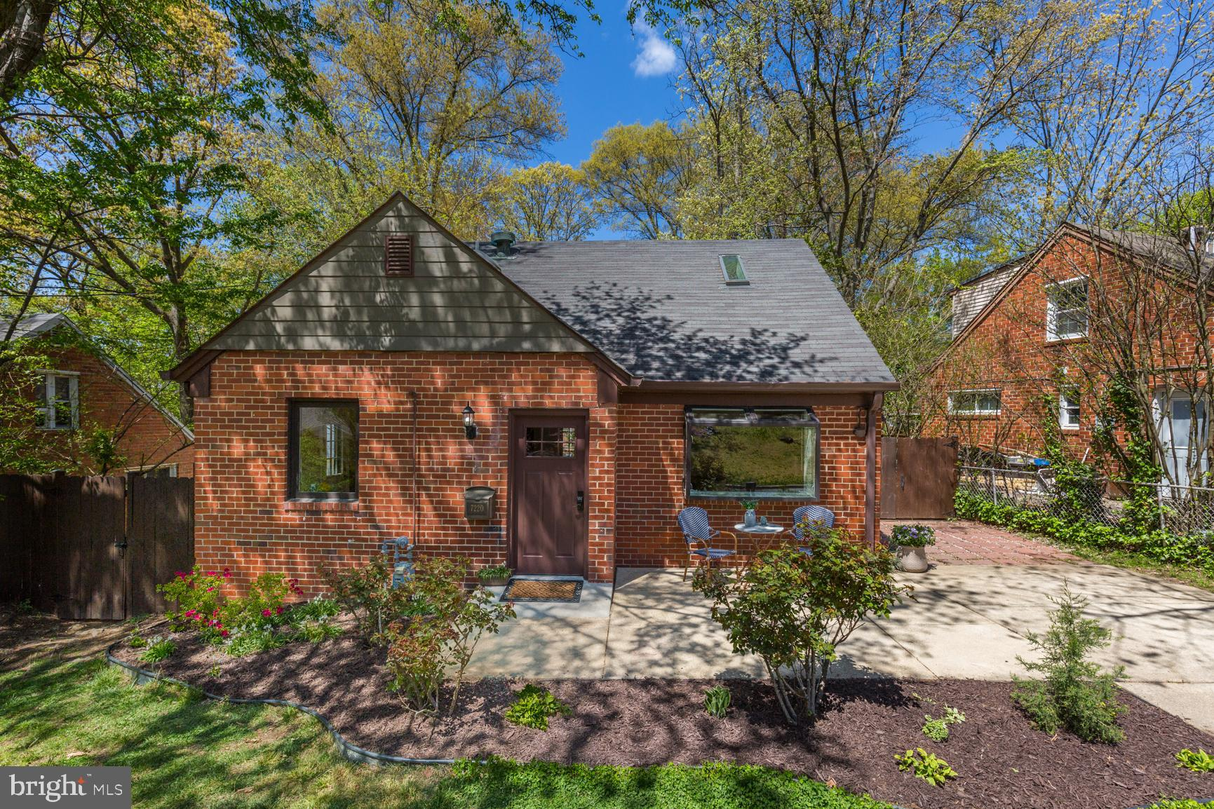 This is the one!  Wonderfully updated, remodeled and expanded cape cod in Carole Highlands with beau