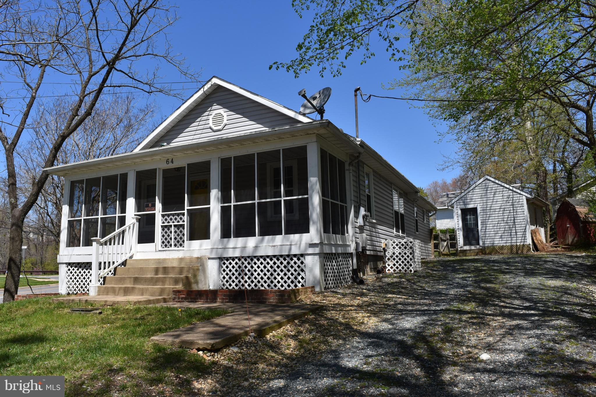 Charming Rambler close to downtown Fredericksburg! This home features 3 bedrooms, 1.5 baths with a s