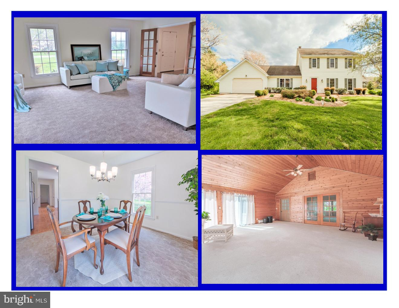 SOUGHT-AFTER COMMUNITY - Waterviews & Sunsets - Lovely home includes wonderful sunroom  with vaulted ceiling, 4 Brs, 2.5 Baths, Family room with vaulted ceiling next to half bath could be 1st-floor bedroom, formal living and dining rooms and eat-in kitchen featuring stainless appliances.