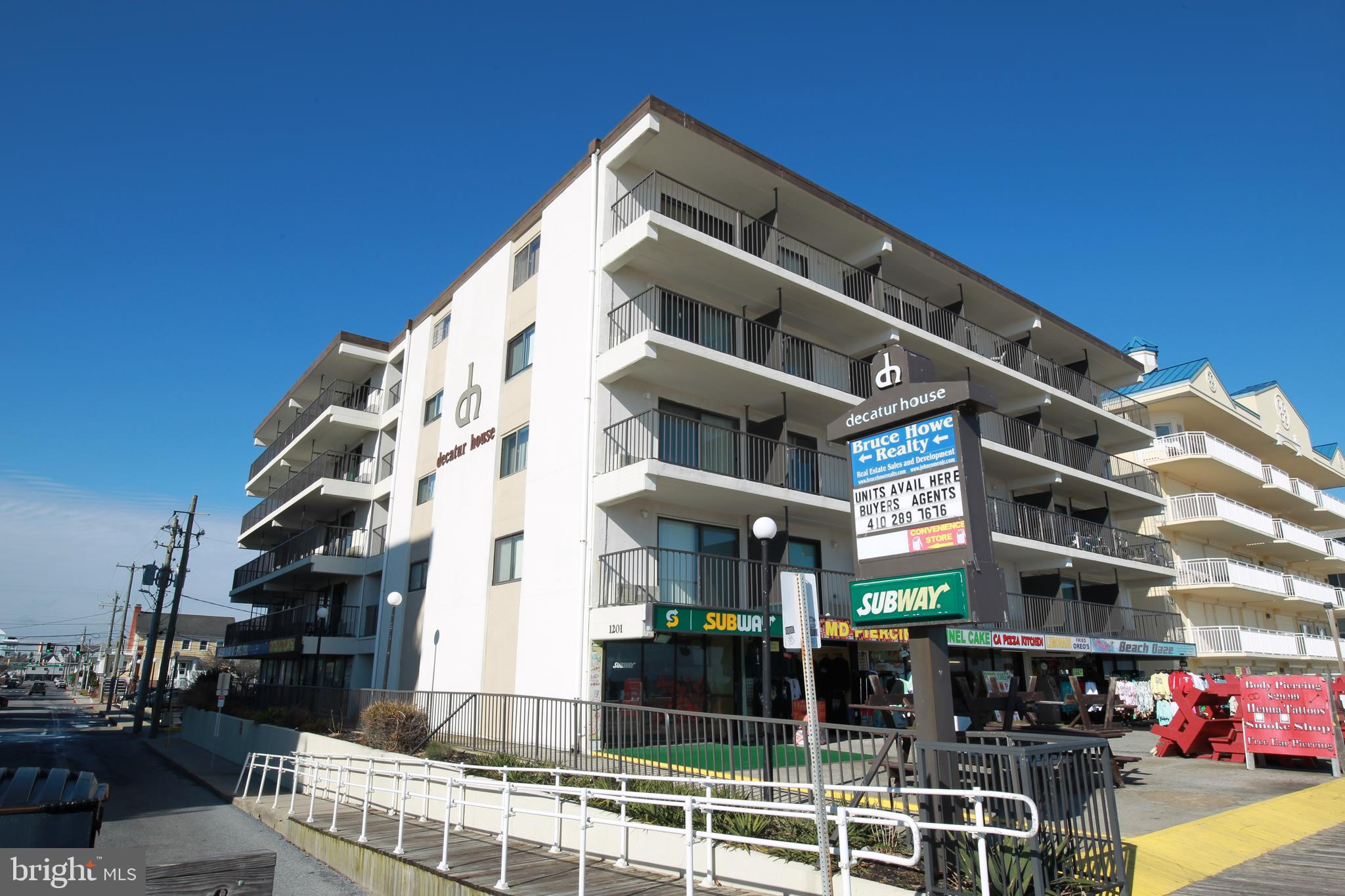 On the Boardwalk, this is a must see direct oceanfront end unit. Listen to the waves crash and watch