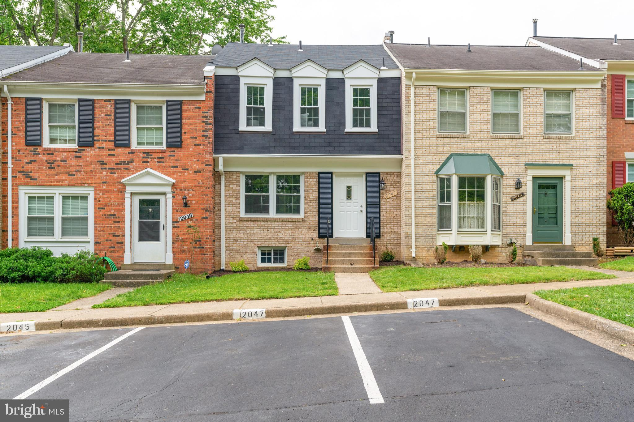 Updated 3 BR 2.5 bath townhouse with finished basement and 2 assigned parking spaces. Updated kitche